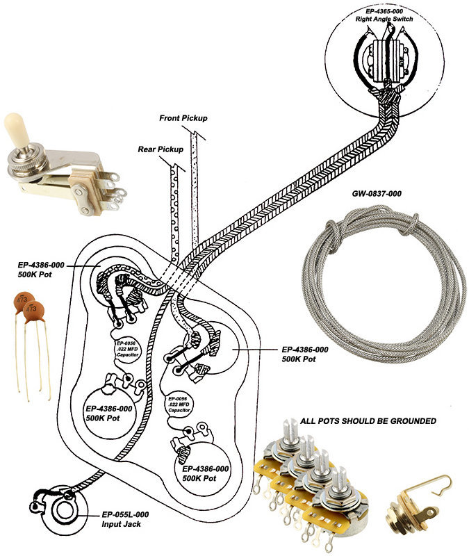View larger image of Wiring Kit for Gibson SG