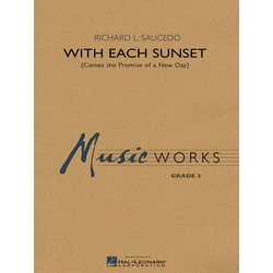 With Each Sunset - Score & Parts, Grade 3