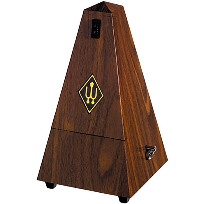 View larger image of Wittner Maelzel Plastic Metronome - Walnut, Bell
