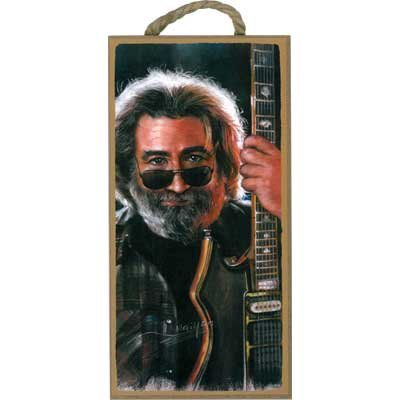 View larger image of Wooden Sign Jerry Garcia - 5x10