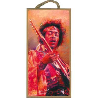View larger image of Wooden Sign Jimmy Hendrix - 5x10