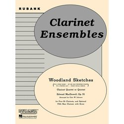 Woodland Sketches, Op. 51 (MacDowell) - Clarinet Quartet or Quintet