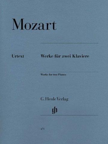 View larger image of Works for Two Pianos (Mozart) (2P4H)