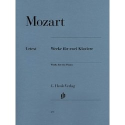 Works for Two Pianos (Mozart) (2P4H)