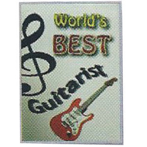 View larger image of World's Best Guitarist Card