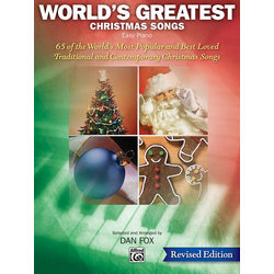 World's Greatest Christmas Songs (Revised) - Easy Piano