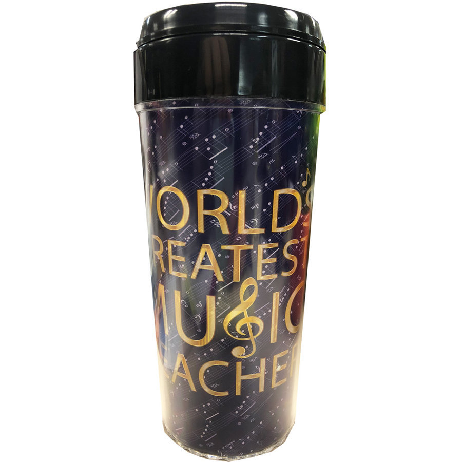View larger image of World's Greatest Music Teacher Travel Tumbler