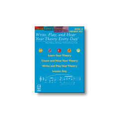 Write, Play, and Hear Your Theory Every Day, Book 4 - Answer Key