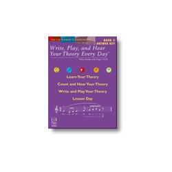 Write, Play, and Hear Your Theory Every Day Book 5 - Answer Key