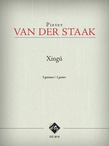View larger image of Xing (Van Der Staak) - Guitar Quintet