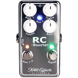 Xotic RC Booster V2 Pedal
