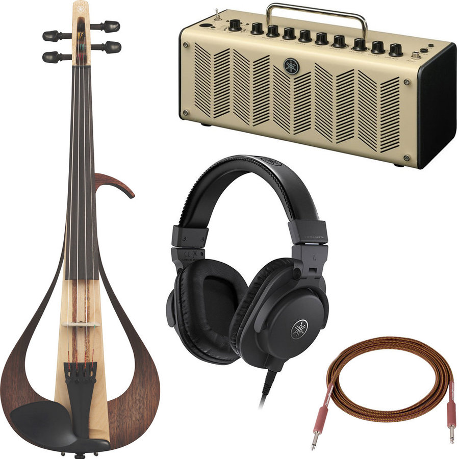 View larger image of Yamaha 104 Electric Violin Performance Package - Amp, Headphones, Cable, Cubase AI
