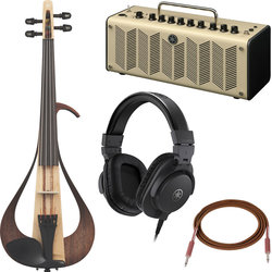 Yamaha 104 Electric Violin Performance Package - Amp, Headphones, Cable, Cubase AI