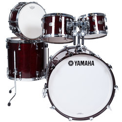 Yamaha Absolute Hybrid Maple 5-Piece Shell Pack - 22/14SD/16FT/12/10, Classic Walnut