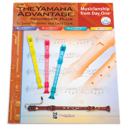 Yamaha Advantage Recorder Plus - Teacher's Book with CD
