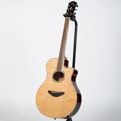 Yamaha APX600 Thinline Cutaway Acoustic-Electric Guitar - Natural