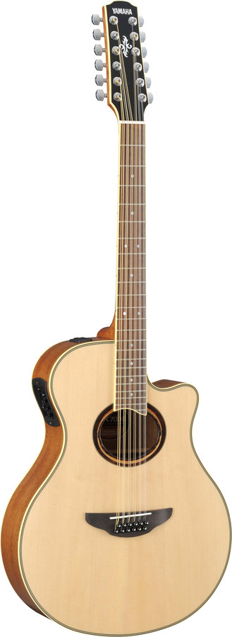 View larger image of Yamaha APX700II-12 12-String Thin-Line Cutaway Acoustic Electric Guitar - Natural