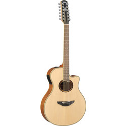 Yamaha APX700II-12 12-String Thin-Line Cutaway Acoustic Electric Guitar - Natural