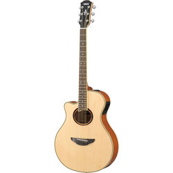 Yamaha APX700II Thin-Line Acoustic Electric Guitar - Natural LH