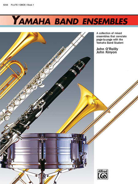 View larger image of Yamaha Band Ensembles Book 1 - Flute/Oboe