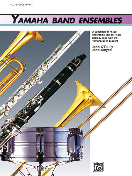 View larger image of Yamaha Band Ensembles Book 3 - Flute/Oboe