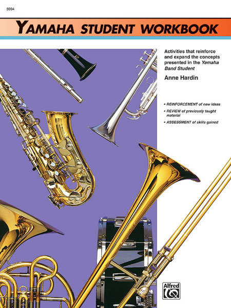 View larger image of Yamaha Band Student Book 1 - Student Workbook
