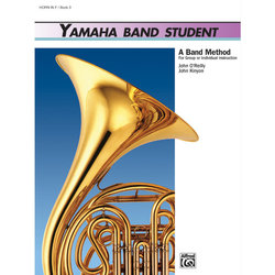 Yamaha Band Student Book 3 - Horn in F