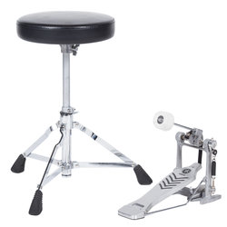 Yamaha Bass Drum Pedal with Throne
