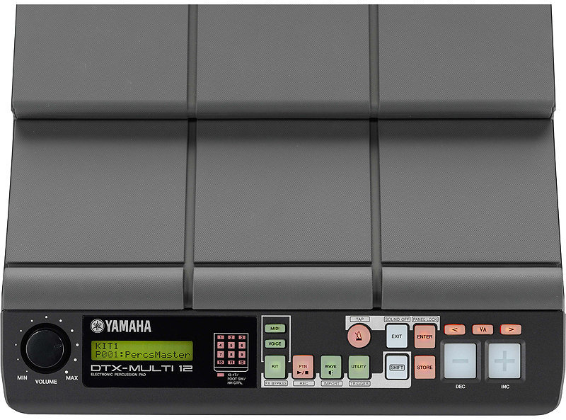 View larger image of Yamaha DTX-MULTI 12 Electronic Percussion Pad