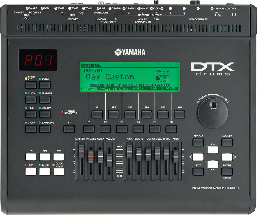 View larger image of Yamaha DTX900 Drum Trigger Module