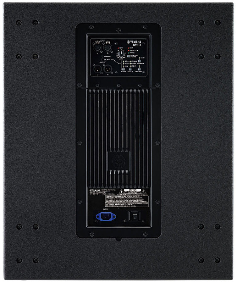 View larger image of Yamaha DXS18SPW1 Powered Subwoofer - 18, with Wheels