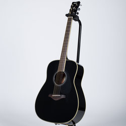 Yamaha FG-TA TransAcoustic Dreadnought Acoustic-Electric Guitar - Black