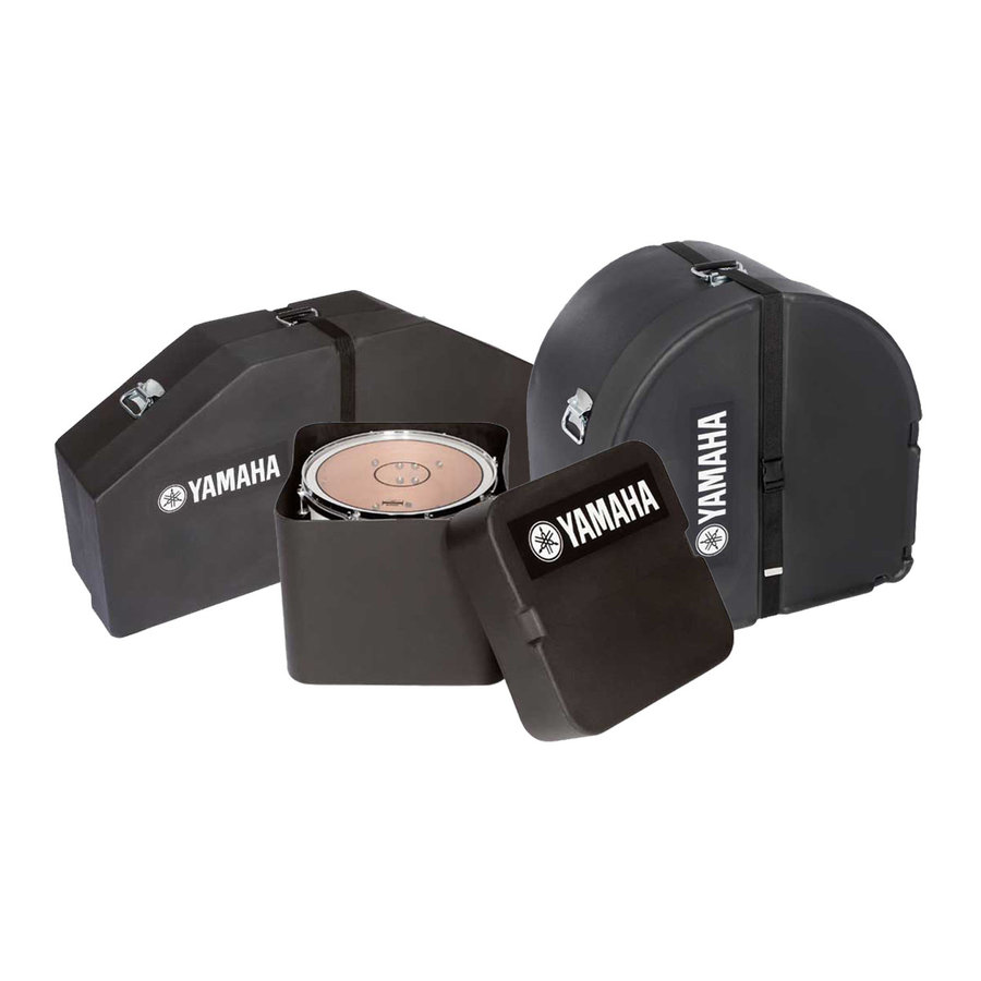 View larger image of Yamaha Field-Master Bass Drum Case - 18 x 14