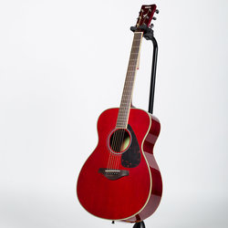 Yamaha FS820 Small Body Acoustic Guitar - Ruby Red