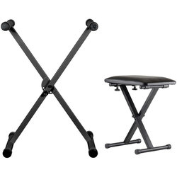 Yamaha KBP2300 Keyboard Stand/Bench Set