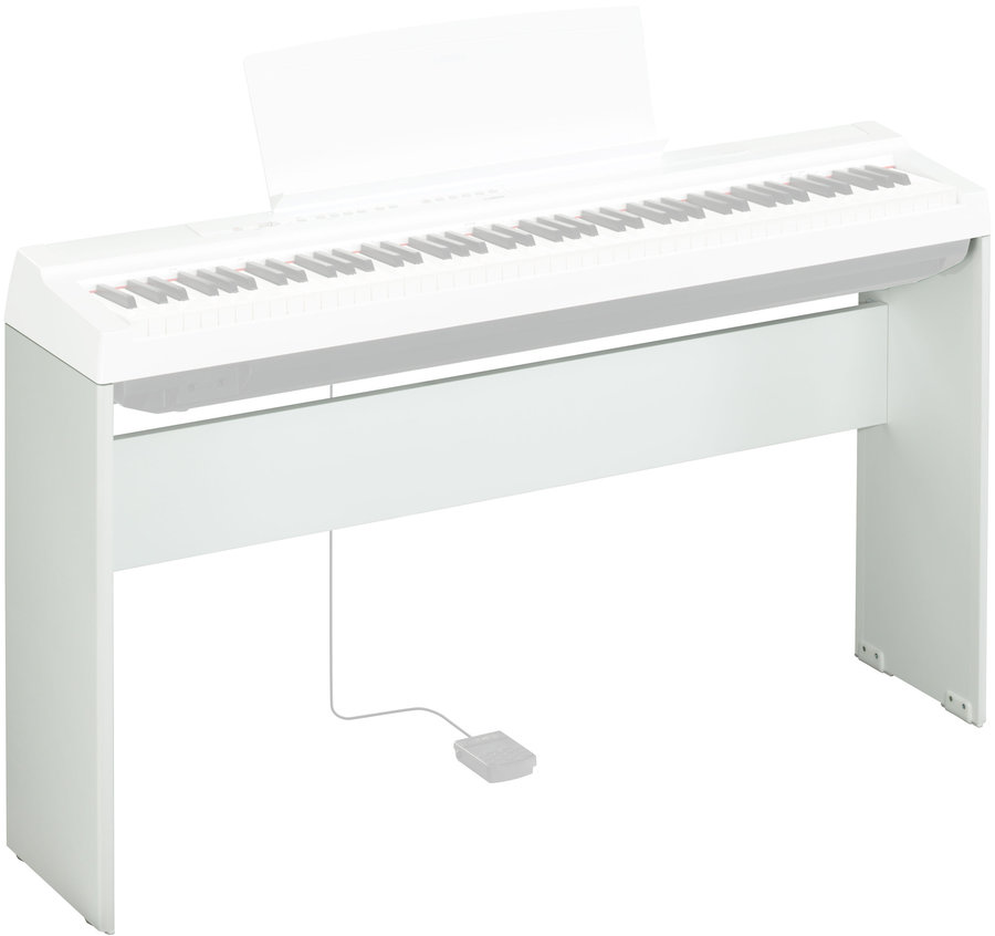View larger image of Yamaha L-125 Piano Stand - White