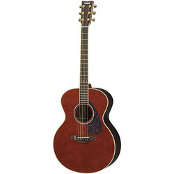Yamaha LJ6 ARE Handcrafted Acoustic-Electric Guitar - Dark Tinted