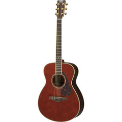 Yamaha LS6 ARE Acoustic-Electric Guitar - Dark Tinted