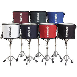 Yamaha Marching Bass Drum Cover - 14, Black