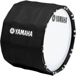 Yamaha Marching Bass Drum Cover - 16, Black