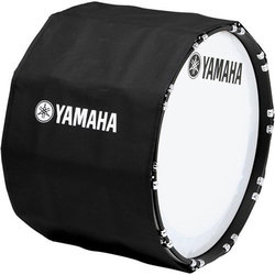 Yamaha Marching Bass Drum Cover - 22, Black