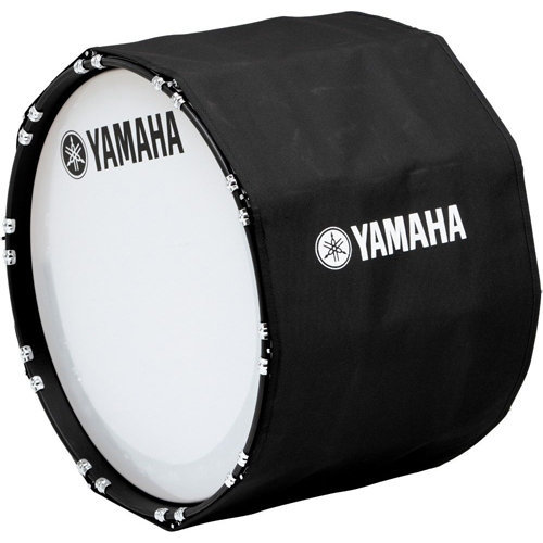 View larger image of Yamaha Marching Bass Drum Cover - 28, Black