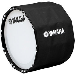 Yamaha Marching Bass Drum Cover - 28, Black