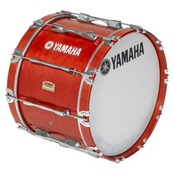 Yamaha MB-8318 Field-Corps Series Marching Bass Drum - Red Forest