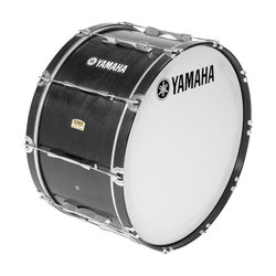 Yamaha MB-8320 Field-Corps Series Marching Bass Drum - Black Forest