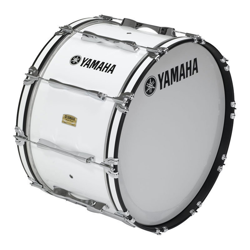 View larger image of Yamaha MB-8322 Field-Corps Series Bass Drum - White