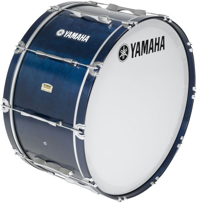 View larger image of Yamaha MB8300 Field-Corps Marching Bass Drum - 26 x 14, Blue
