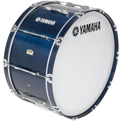 Yamaha MB8300 Field-Corps Marching Bass Drum - 26 x 14, Blue
