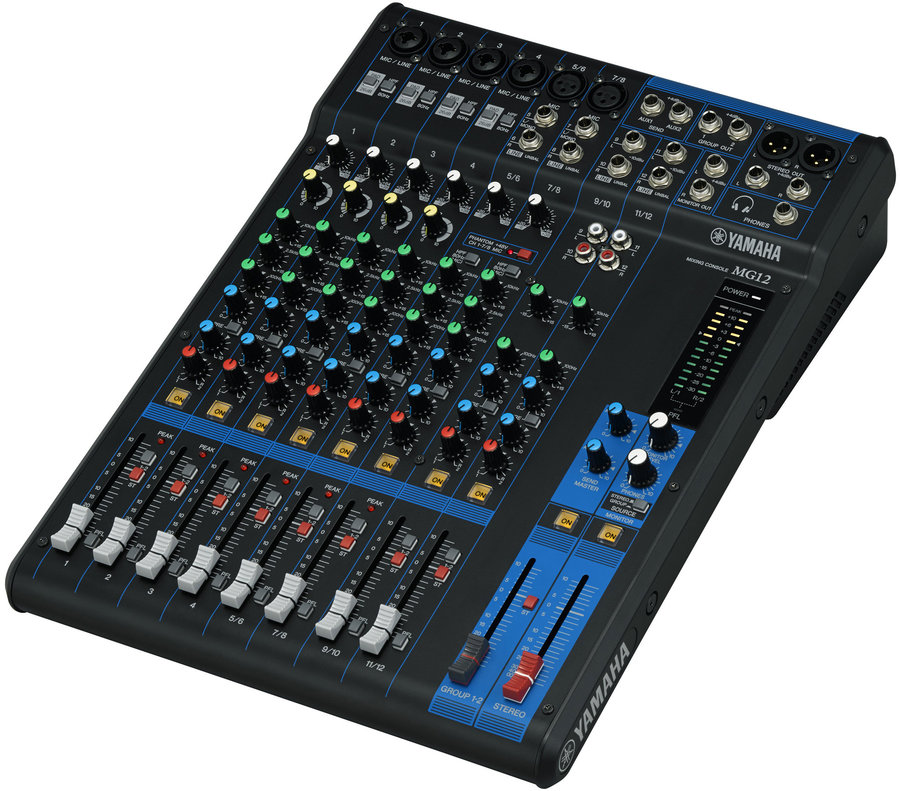 View larger image of Yamaha MG12 12-Channel Mixer