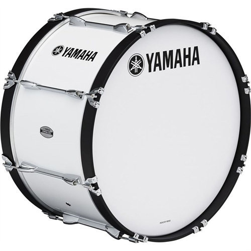 View larger image of Yamaha MS-6300 Power-Lite Marching Bass Drum - 18, White
